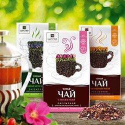 Чаи с добавлением крымских растений