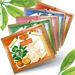 Эфирные масла на открытке