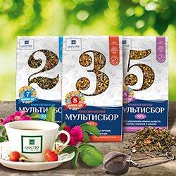 Фиточаи - мультисборы из крымских растений