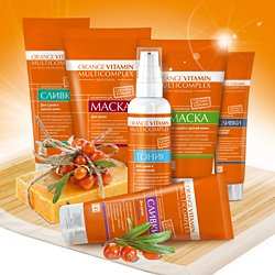 Orange vitamin multicomplex - омолаживающий комплекс с пастой облепихи