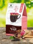 Черный чай с розой и смесью специй