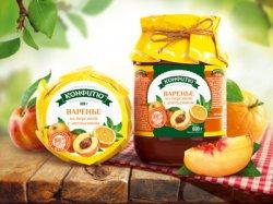 Варенье из персика с апельсином