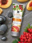 Крем-гель «Персик и Рябина» для тела питательный и увлажняющий
